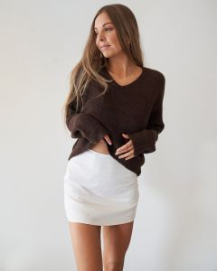 Heart of Stone Knit - Chocolate