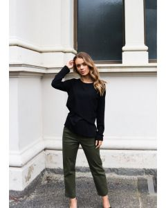 Queen Pants - Army Green