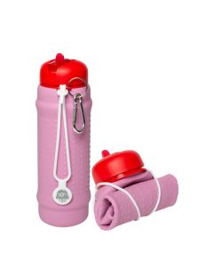 Rolla Bottle - Pink Lilac, Red + White