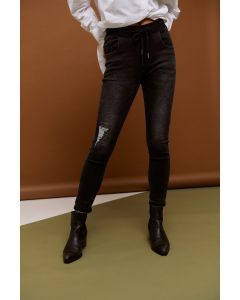 Skinnies with No Patch - Black
